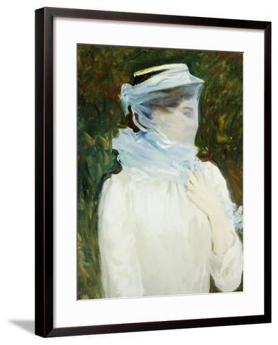 Sally Fairchild, circa 1890-John Singer Sargent-Framed Art Print