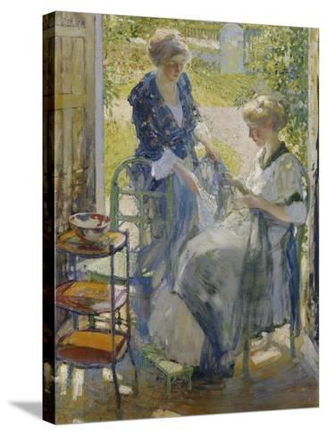 The Garden Room, Giverny-Richard E. Miller-Stretched Canvas Print