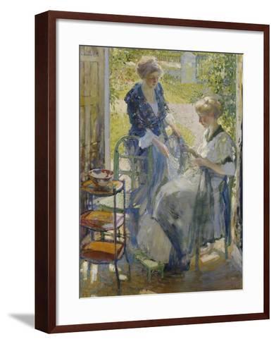The Garden Room, Giverny-Richard E. Miller-Framed Art Print