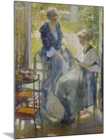 The Garden Room, Giverny-Richard E. Miller-Mounted Giclee Print