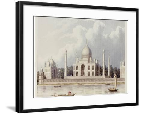 The Taj Mahal, Tomb of the Emperor Shah Jehan and His Queen, circa 1824-Charles Ramus Forrest-Framed Art Print
