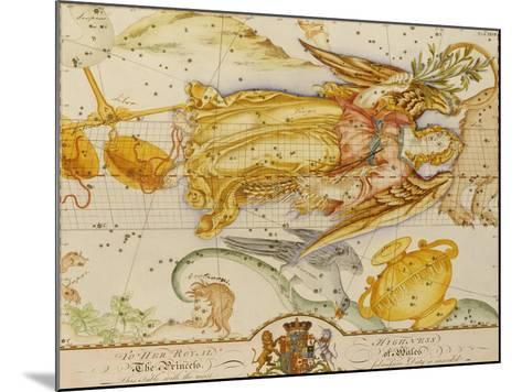 Uranographia, or the Celestial Atlas, circa 1800-John Bevis-Mounted Giclee Print