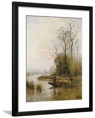 The Ferry-Louis-aime Japy-Framed Art Print