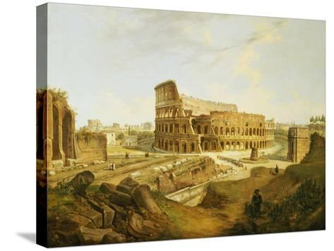 The Colisseum, Rome-Jean Victor Louis Faure-Stretched Canvas Print
