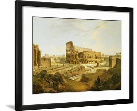 The Colisseum, Rome-Jean Victor Louis Faure-Framed Art Print