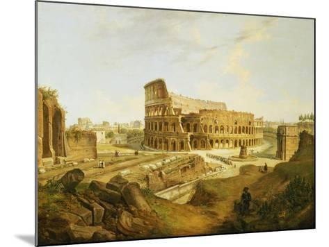 The Colisseum, Rome-Jean Victor Louis Faure-Mounted Giclee Print