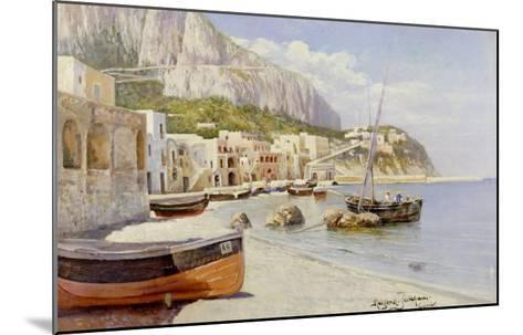Marina Grande, Capri-Holgar Hvitfeld Jerichau-Mounted Giclee Print