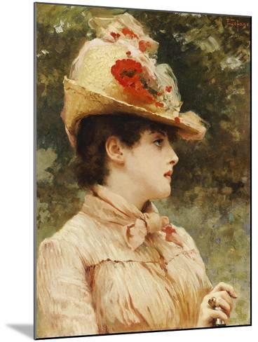 A Young Beauty-Eduardo Tofano-Mounted Giclee Print
