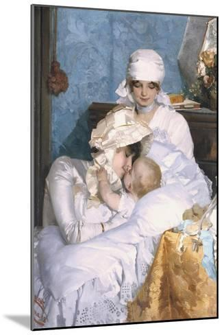 Motherly Love, 1883-Ferenc Innocent-Mounted Giclee Print