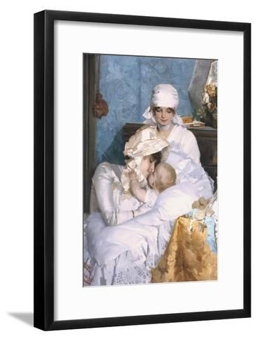 Motherly Love, 1883-Ferenc Innocent-Framed Art Print