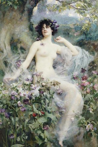 Songs of the Morning-Henrietta Rae-Stretched Canvas Print