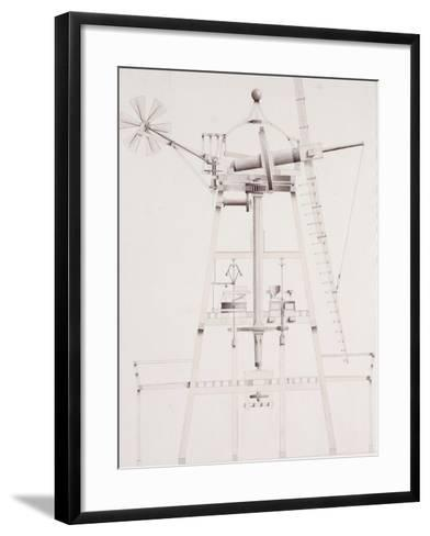 Drawings for Windmills, Dated 1814-17-John Farey, Jr-Framed Art Print