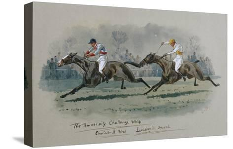 The University Challenge Whip, Feb 1909. W. G. Longe (Early 20th Century)-W.g. Longe-Stretched Canvas Print