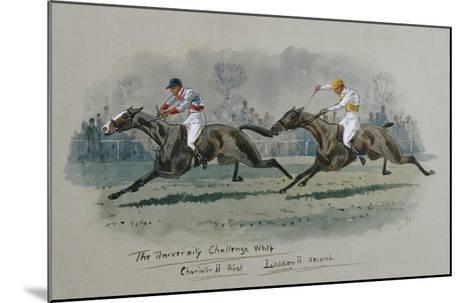 The University Challenge Whip, Feb 1909. W. G. Longe (Early 20th Century)-W.g. Longe-Mounted Giclee Print