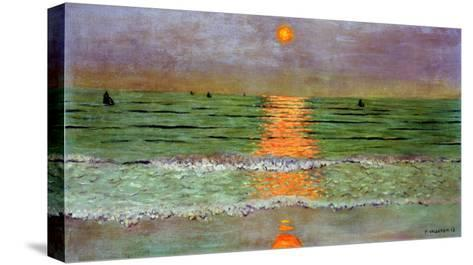 Sunset, 1913-F?lix Vallotton-Stretched Canvas Print