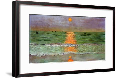 Sunset, 1913-F?lix Vallotton-Framed Art Print
