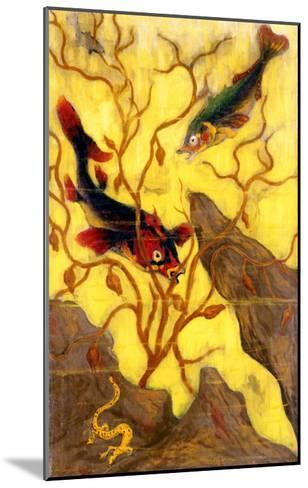Poissons, and Crustaces, 1902-Paul Ranson-Mounted Giclee Print