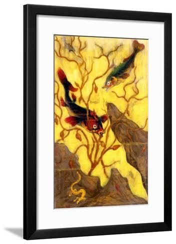 Poissons, and Crustaces, 1902-Paul Ranson-Framed Art Print