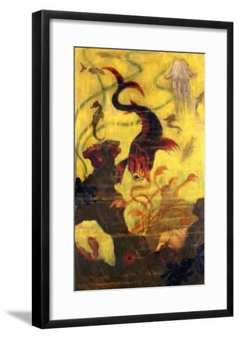 Poissons et Crustacaes, circa 1902-Paul Ranson-Framed Art Print