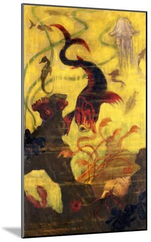 Poissons et Crustacaes, circa 1902-Paul Ranson-Mounted Giclee Print