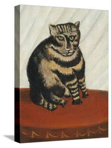 Le Chat Tigre-Henri Rousseau-Stretched Canvas Print