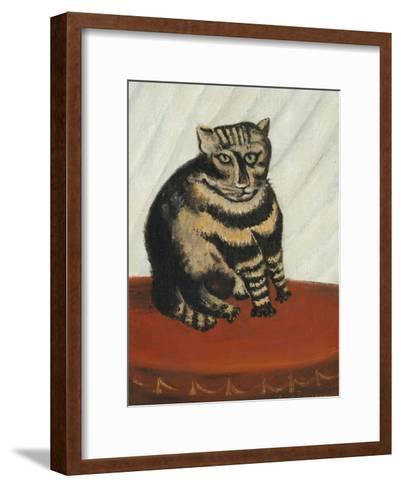 Le Chat Tigre-Henri Rousseau-Framed Art Print