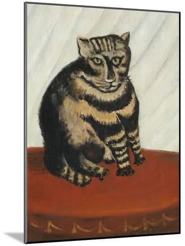 Le Chat Tigre-Henri Rousseau-Mounted Giclee Print