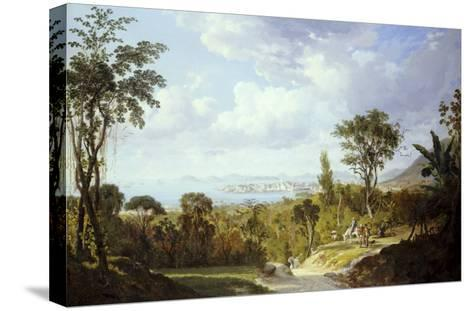 General View of Panama, 1852-Ernest Charton-Stretched Canvas Print