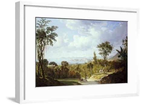 General View of Panama, 1852-Ernest Charton-Framed Art Print