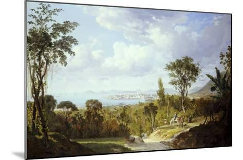 General View of Panama, 1852-Ernest Charton-Mounted Giclee Print
