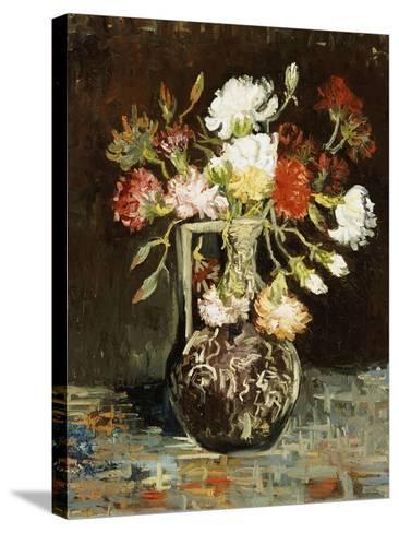 Bouquet of Flowers-Vincent van Gogh-Stretched Canvas Print