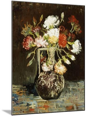 Bouquet of Flowers-Vincent van Gogh-Mounted Giclee Print