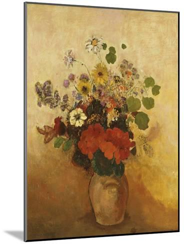 Vase of Flowers-Odilon Redon-Mounted Giclee Print