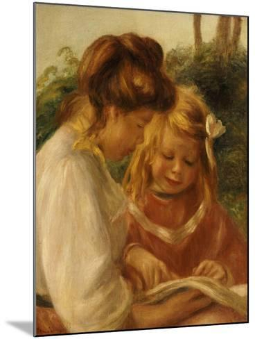 The Alphabet, Jean and Gabrielle-Pierre-Auguste Renoir-Mounted Giclee Print