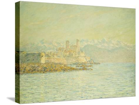 The Old Fort at Antibes-Claude Monet-Stretched Canvas Print