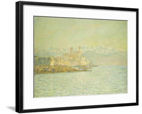 The Old Fort at Antibes-Claude Monet-Framed Art Print