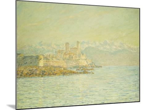 The Old Fort at Antibes-Claude Monet-Mounted Giclee Print