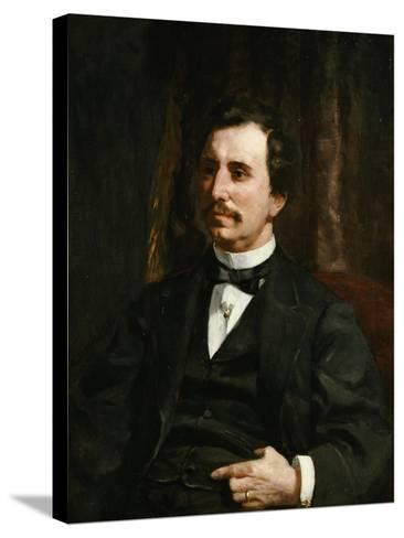 Portrait Du Colonel Barton Howard Jenks-Pierre-Auguste Renoir-Stretched Canvas Print