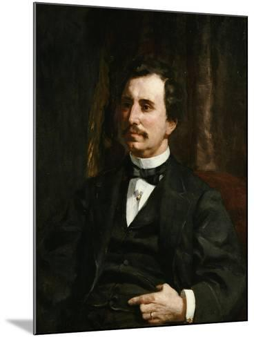 Portrait Du Colonel Barton Howard Jenks-Pierre-Auguste Renoir-Mounted Giclee Print
