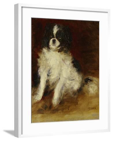 Tama-Pierre-Auguste Renoir-Framed Art Print