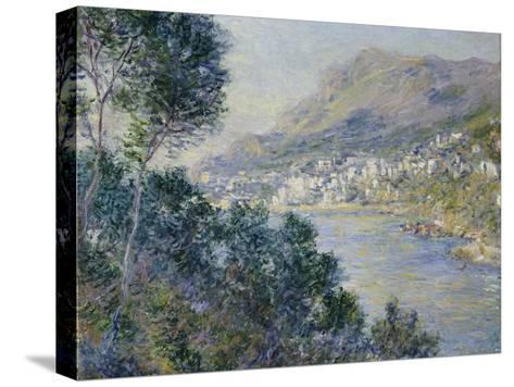 A View of Cape Martin, Monte Carlo-Claude Monet-Stretched Canvas Print