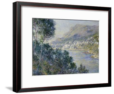 A View of Cape Martin, Monte Carlo-Claude Monet-Framed Art Print