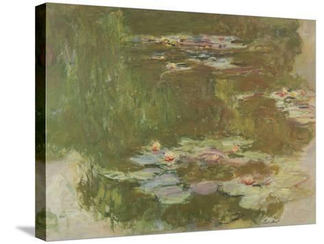 Lily Pond, 1881-Claude Monet-Stretched Canvas Print