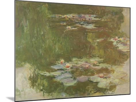 Lily Pond, 1881-Claude Monet-Mounted Giclee Print