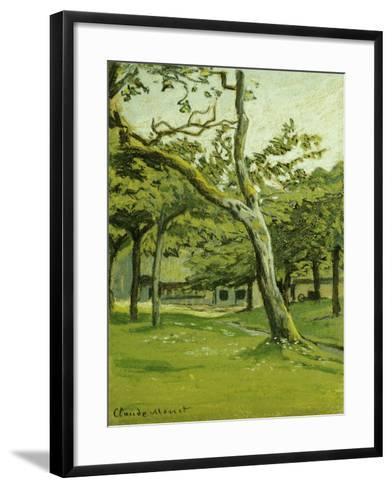 An Orchard-Claude Monet-Framed Art Print