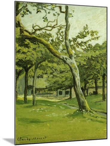 An Orchard-Claude Monet-Mounted Giclee Print