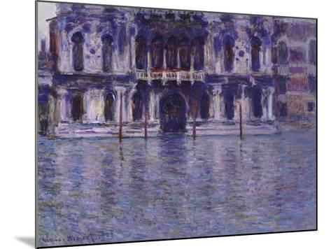 The Contarini Palace, 1908-Claude Monet-Mounted Giclee Print