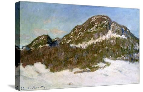 Mount Kolsaas in Sunlight, 1895-Claude Monet-Stretched Canvas Print