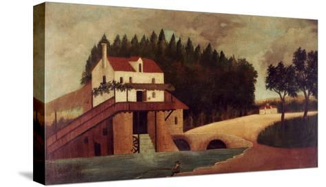 The Mill, circa 1896-Henri Rousseau-Stretched Canvas Print