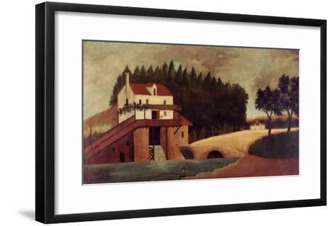 The Mill, circa 1896-Henri Rousseau-Framed Art Print